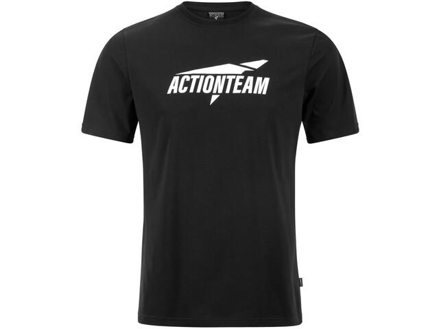 Cube Organic T-Shirt Actionteam Men black